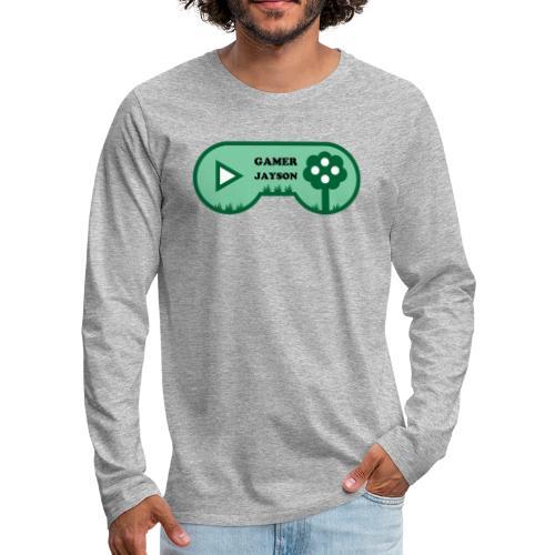 Joueur Jayson - T-shirt manches longues Premium Homme