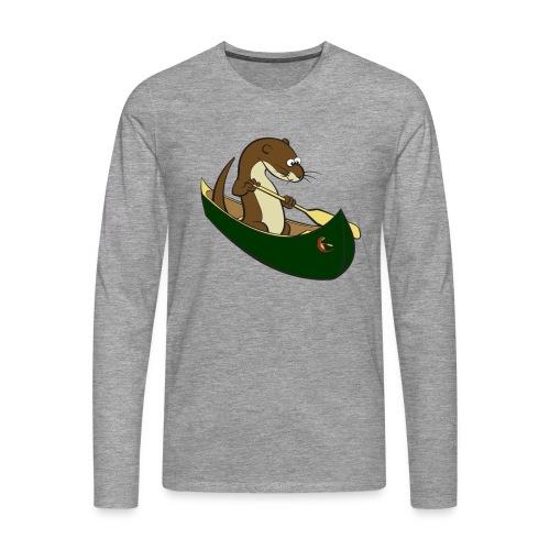 greencanoewithsticker - Men's Premium Longsleeve Shirt
