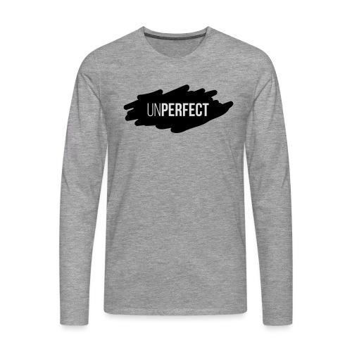 UNPERFECT LOGO 2 - Männer Premium Langarmshirt