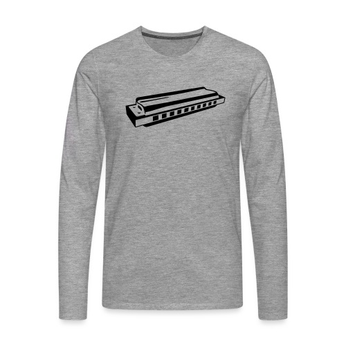 Harmonica - Men's Premium Longsleeve Shirt