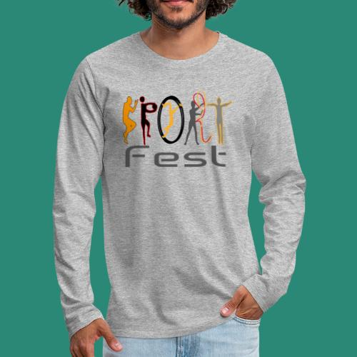 sportfest - Männer Premium Langarmshirt