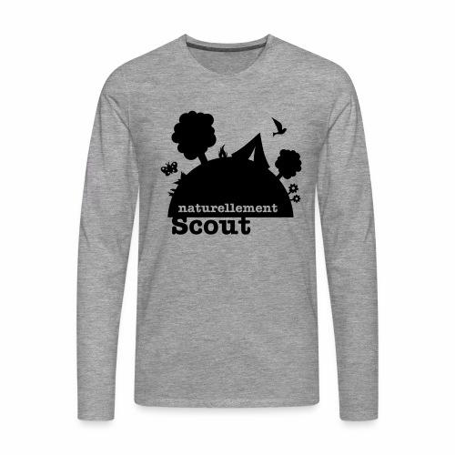 Naturellement Scout - T-shirt manches longues Premium Homme