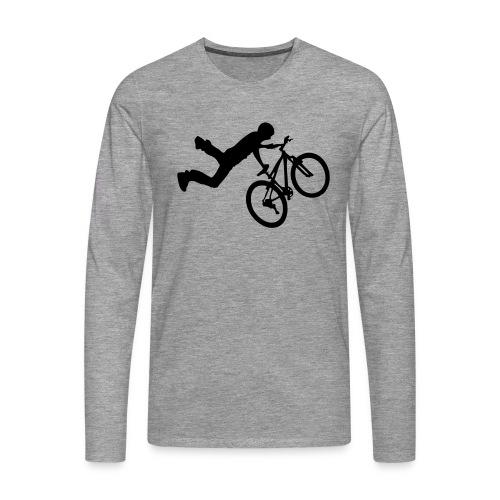 Hero - T-shirt manches longues Premium Homme