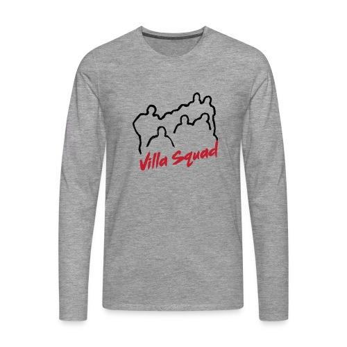 Villa Squad - Maglietta Premium a manica lunga da uomo