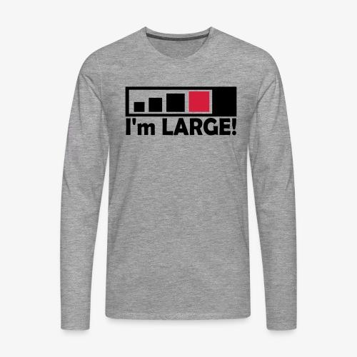 large_geocacher - Männer Premium Langarmshirt