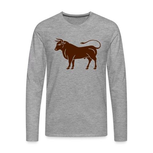 Année du boeuf - T-shirt manches longues Premium Homme