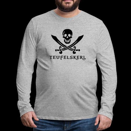 ~ Teufelskerl ~ - Männer Premium Langarmshirt