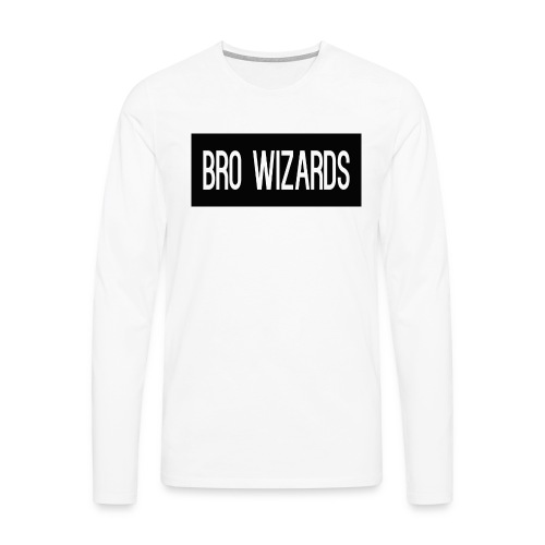 Browizardshoodie - Men's Premium Longsleeve Shirt