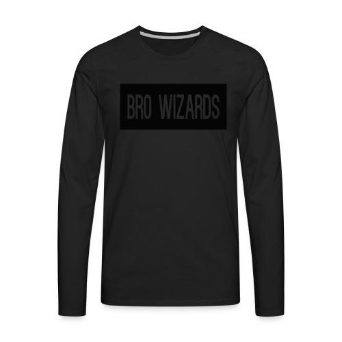 Browizardshoodie - Men's Premium Longsleeve Shirt
