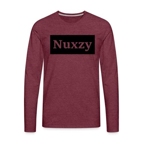 Nuxzy sweatshirt - Herre premium T-shirt med lange ærmer