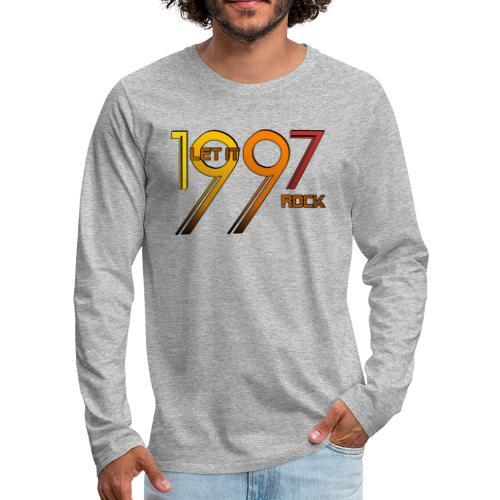 Let it Rock 1997 - Männer Premium Langarmshirt