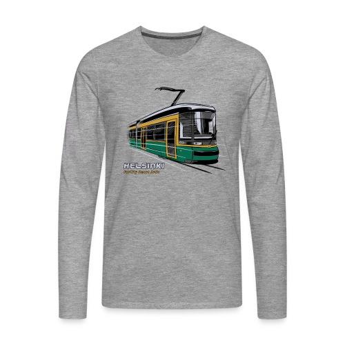 Helsingin Raitiovaunu T-paidat, 154 upeaa tuotetta - Miesten premium pitkähihainen t-paita