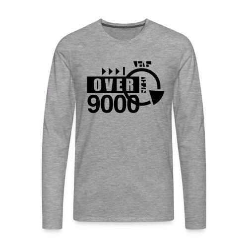 over 9000 - Men's Premium Longsleeve Shirt