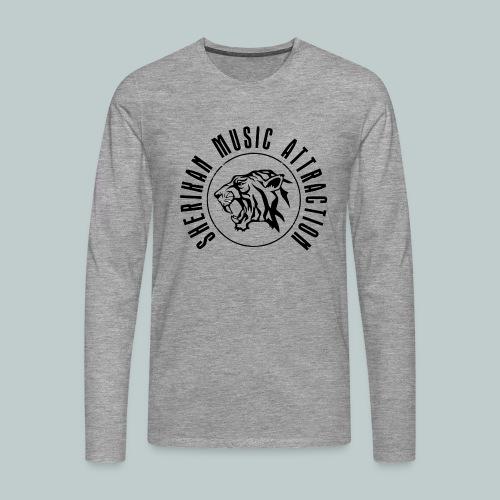 Sherikan Logo - Långärmad premium-T-shirt herr