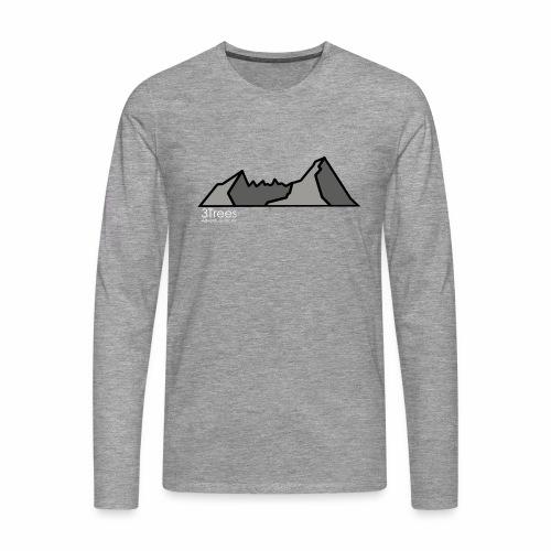 Mountains - Männer Premium Langarmshirt