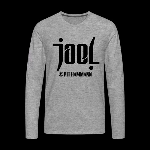 Ambigramm Joel 01 Pit Hammann - Männer Premium Langarmshirt