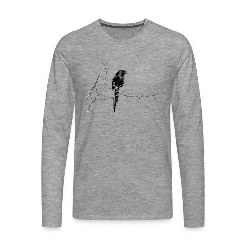 I like birds ll - Männer Premium Langarmshirt