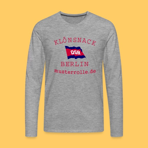 KiB-Logo-gif - Männer Premium Langarmshirt