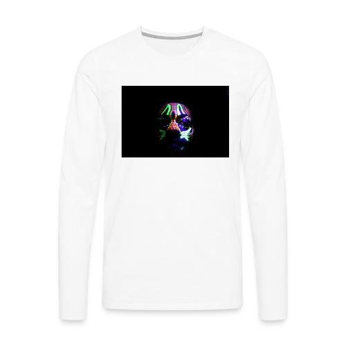 Humam chameleom - Men's Premium Longsleeve Shirt