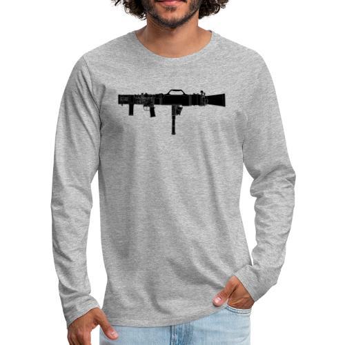 Carl-Gustaf M3 - Granatgevär 8,4 cm m86 - Långärmad premium-T-shirt herr