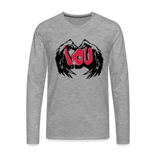 IOU - I owe you - Männer Premium Langarmshirt