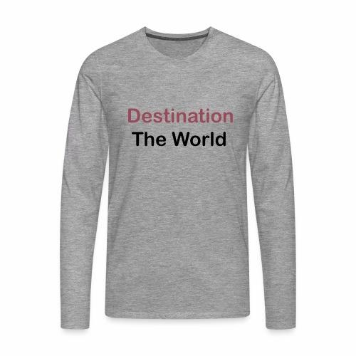 T Shirt design 2 - T-shirt manches longues Premium Homme