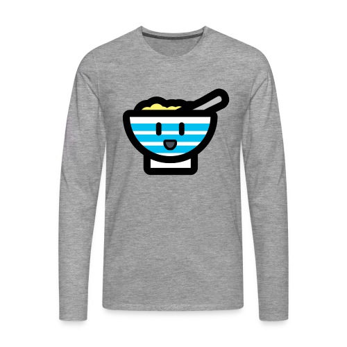 Cute Breakfast Bowl - Men's Premium Longsleeve Shirt