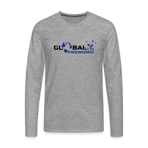 Global Fireworks - Männer Premium Langarmshirt
