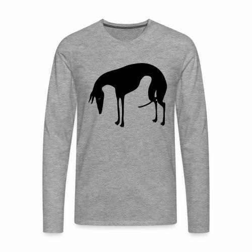 Sadepäivän Surku - Miesten premium pitkähihainen t-paita
