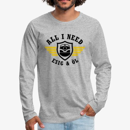 ESIG OEL 2 - Männer Premium Langarmshirt