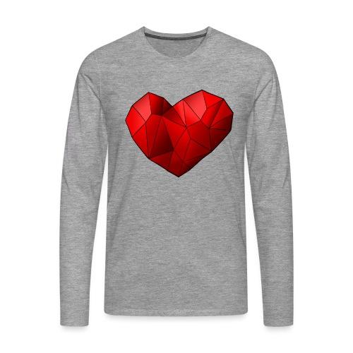 Heartart - Men's Premium Longsleeve Shirt