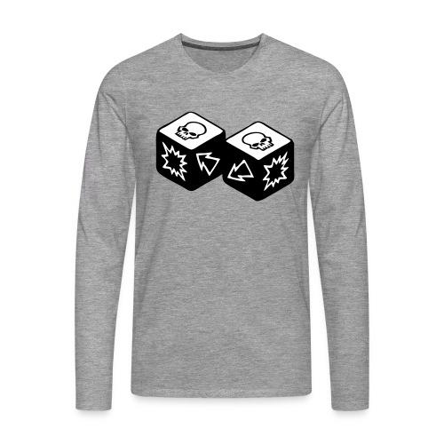 Double Skull - T-shirt manches longues Premium Homme