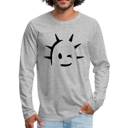 Kaktus Kopf - Männer Premium Langarmshirt