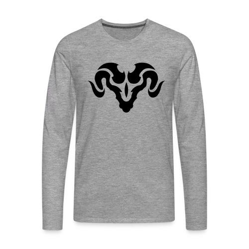 ram - Mannen Premium shirt met lange mouwen