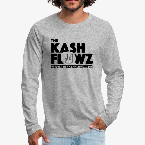 The Kash Flowz Official Web Site Black - T-shirt manches longues Premium Homme