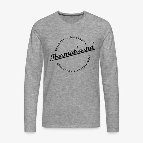 Österreich Hoamatlaund - Männer Premium Langarmshirt