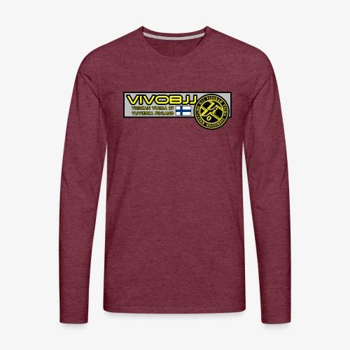 ViVoBJJ Patch - Miesten premium pitkähihainen t-paita