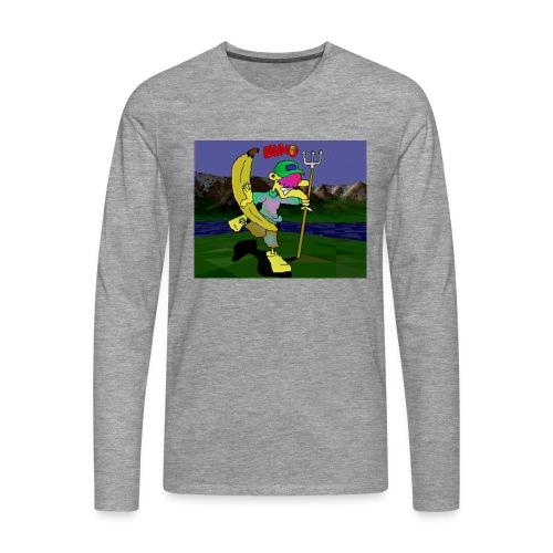 Bruno II - Premium langermet T-skjorte for menn