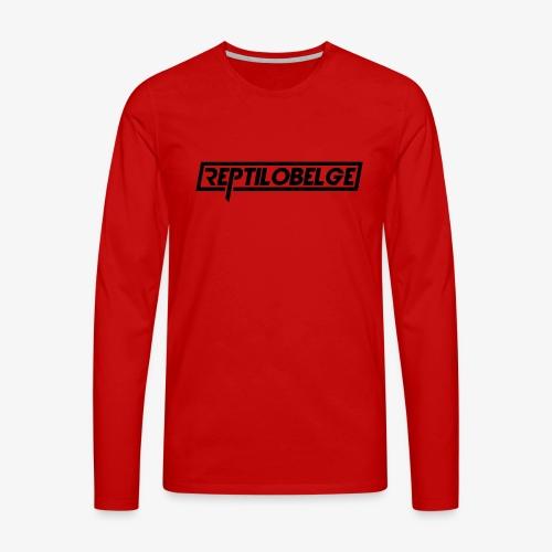 M1 Reptilobelge - T-shirt manches longues Premium Homme