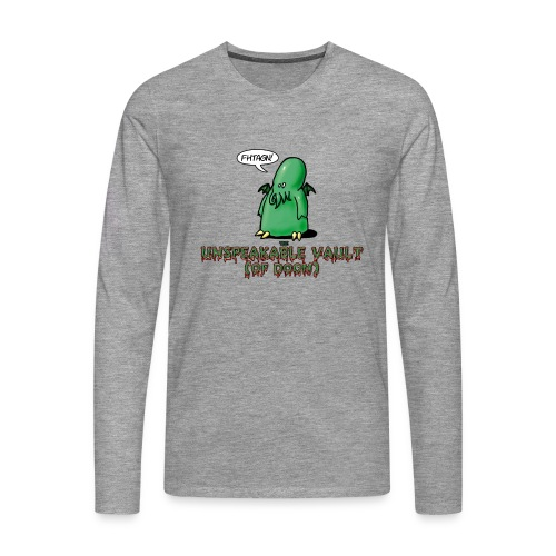 Unspeakable Vault (of Doom) - T-shirt manches longues Premium Homme