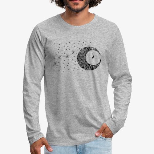Dream your routes - Men's Premium Longsleeve Shirt