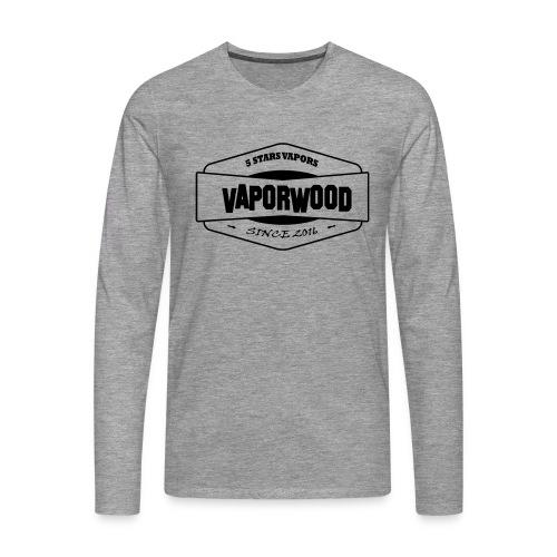 VaporwoodLogo - Männer Premium Langarmshirt