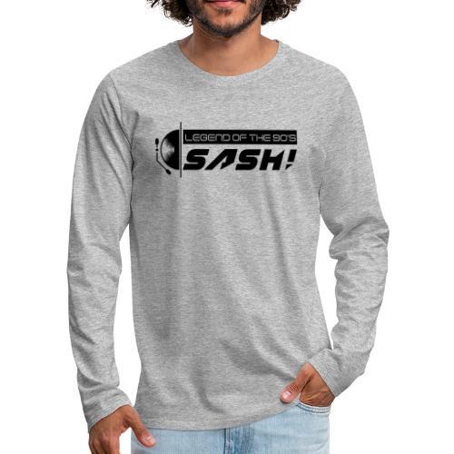 DJ SASH! Turntable 2020 Logo - Men's Premium Longsleeve Shirt