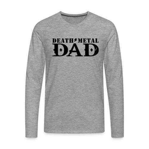 death metal dad - Mannen Premium shirt met lange mouwen