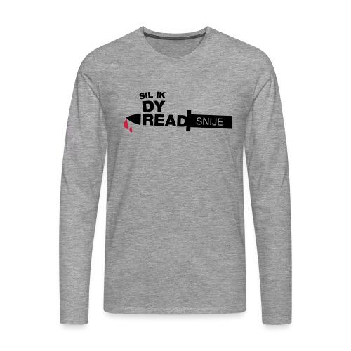 Read snije - Mannen Premium shirt met lange mouwen