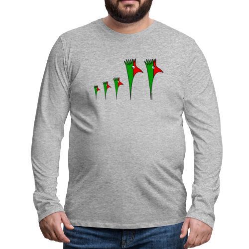 Galoloco - Família3 - T-shirt manches longues Premium Homme