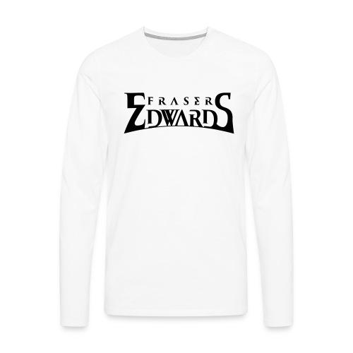 Fraser Edwards Men's Slim Fit T shirt - Men's Premium Longsleeve Shirt