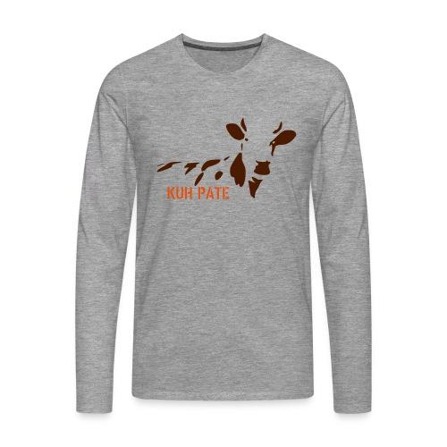 kuhpate lotti NEU - Männer Premium Langarmshirt