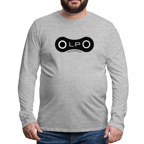 OLPO - Miesten premium pitkähihainen t-paita