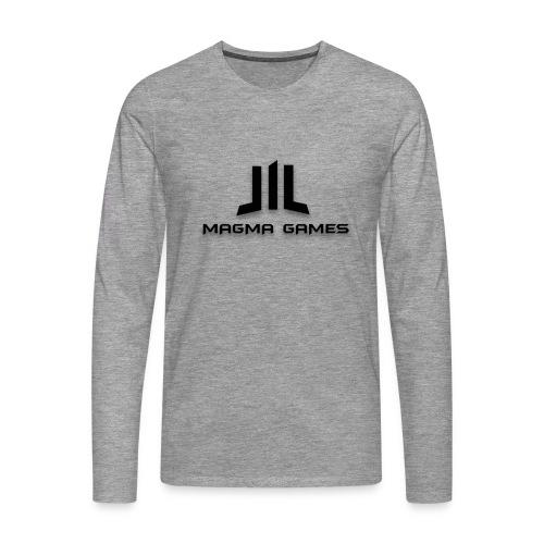 Magma Games muismatje - Mannen Premium shirt met lange mouwen